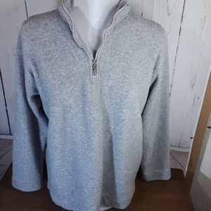 Catalina | Quarter Zip Fleece Pullover | Sz Small